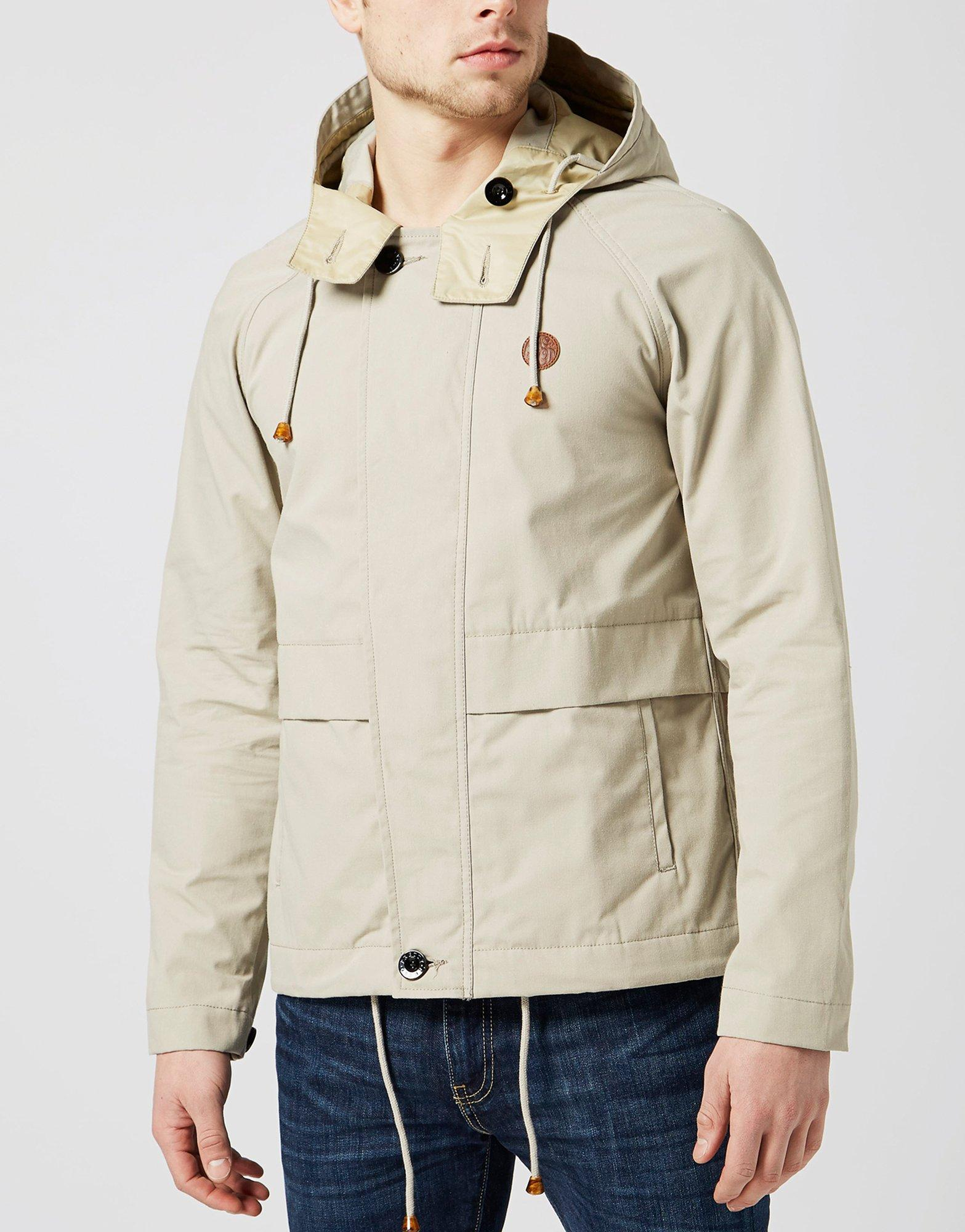 Pretty green stone parka